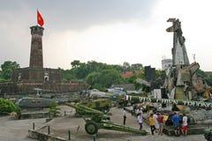 Musée de guerre de Hanoï Photos libres de droits