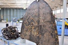 Musée de guerre de Duxford, Angleterre - 21 mars 2012 Musée impérial de guerre de Duxford dans U k images stock