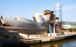 Musée de Guggenheim à Bilbao Photos libres de droits