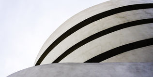 Musée de Guggenheim à New York City photographie stock