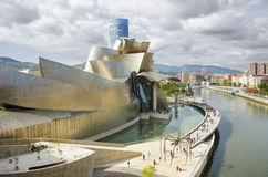 Musée de Guggenheim, Bilbao Photographie stock