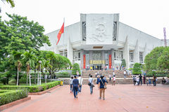 Musée de Ho Chi Minh à Hanoï, Vietnam Images libres de droits