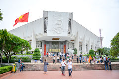 Musée de Ho Chi Minh à Hanoï, Vietnam Photo libre de droits