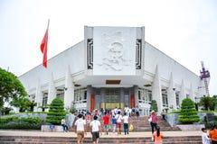 Musée de Ho Chi Minh à Hanoï, Vietnam Photographie stock libre de droits