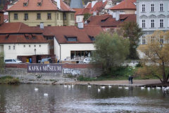 Musée de Kafka à Prague Image stock