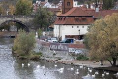 Musée de Kafka à Prague Images stock