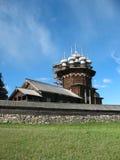 Musée de Kizhi d'architecture en bois Photos stock