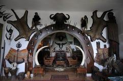 Musée de l'Afrique, Hongrie Balatonederics Photographie stock