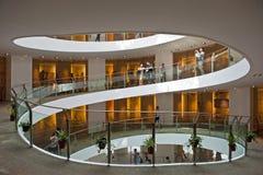 Musée de l'escalier spiralé en Arabie Saoudite Photographie stock