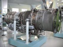 Musée de l'histoire du bâtiment de moteur d'avions Moteurs d'avions sur des supports Moteurs et moteurs à combustion interne de t Photo libre de droits