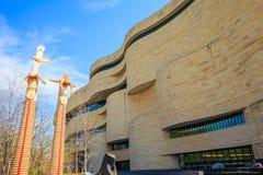 Musée de l'Indien d'Amerique à Washington image stock