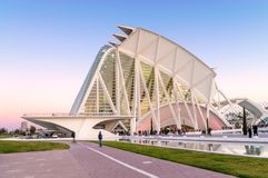 Musée de la science à Valence, Espagne Image libre de droits