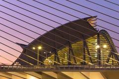 Musée de la science à Valence, Espagne Photographie stock libre de droits