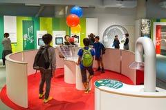 Musée de la Science de ville de Nagoya Photographie stock