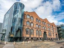 Musée de la Science et d'industrie à Manchester Photos stock