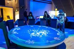 Musée de la Science, Londres, R-U Image libre de droits