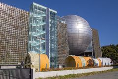 Musée de la Science de ville de Nagoya, Nagoya, Japon photographie stock libre de droits