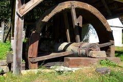 Or - musée de la vieille mine d'or romaine Rosia Montana, la Transylvanie Images stock