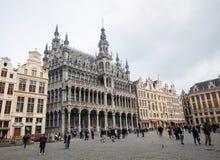 Musée de la ville chez Grand Place à Bruxelles Image libre de droits