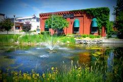 Musée de lacs geneva Photos libres de droits