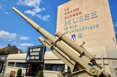 Musée de Le Grand Bunker dans Ouistreham dans Normandie Image stock