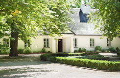 Musée de lieu de naissance de Zelazowa Wola - de Frederic Chopin Photos libres de droits