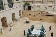 Musée de Louvre, cour de Puget, Paris photos stock
