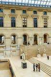 Musée de Louvre, cour de Puget, Paris image stock