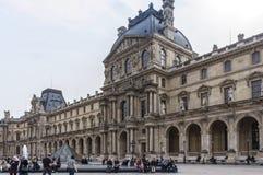 Musée de Louvre dans les Frances Image libre de droits