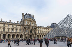 Musée de Louvre dans les Frances Photographie stock