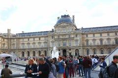 Musée de Louvre - Paris Photos libres de droits