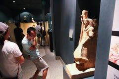 Musée de Louxor chez l'Egypte Images libres de droits