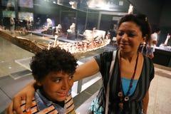 Musée de Louxor chez l'Egypte Images stock