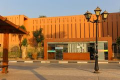 Musée de Louxor - Egypte Images stock
