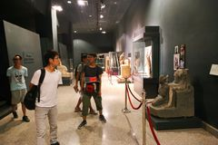 Musée de Louxor - Egypte Photo stock