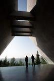 Musée de mémorial d'holocauste de Yad Vashem Images stock