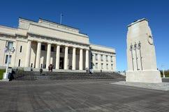 Musée de mémorial de guerre d'Auckland - Nouvelle-Zélande Photos stock