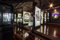 Musée de marionnettes d'ombre chez Nang Yai Wat Khanon Photo stock