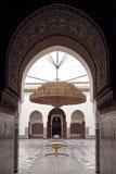 Musée de Marrakech. Images libres de droits