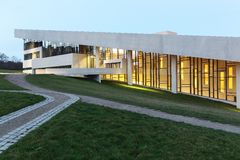 Musée de Moesgaard au Danemark Images stock