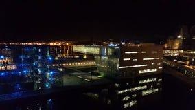 Musée de MUCEM à Marseille par nuit photo libre de droits