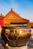 Musée de palais dans Pékin Photo stock