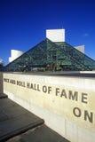 Musée de Panthéon de rock, Cleveland, OH Image libre de droits
