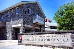 Musée de parc national de Gettysburg et centre de visiteur photos stock