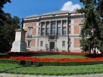 Musée de Prado - entrée méridionale Images libres de droits