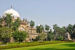 Musée de prince de Galles dans Mumbai, Inde Photographie stock libre de droits