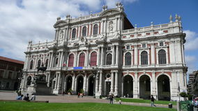 Musée de Risorgimento, Turin Images stock