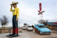 Musée de rv à Amarillo, le Texas image libre de droits