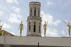 Musée de Salvador Dali dans Figueras Image libre de droits