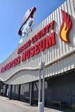 Musée de sapeurs-pompiers du comté de Nassau sur le Long Island à New York, Etats-Unis photographie stock